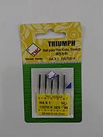 Иглы для бытовых швейных машин 130/705H Стрейч №90 TRIUMPH (уп.5шт)
