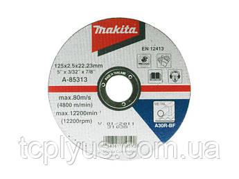 Відрізний диск по металу 125x2.5  Макіта D-18677