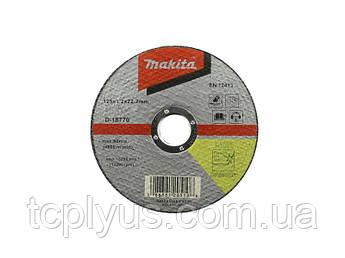 Відрізний диск по нерж. сталі 115x1.2  Макіта D-18764