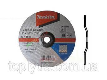Відрізний диск по сталі 230х3 Макіта D-18596