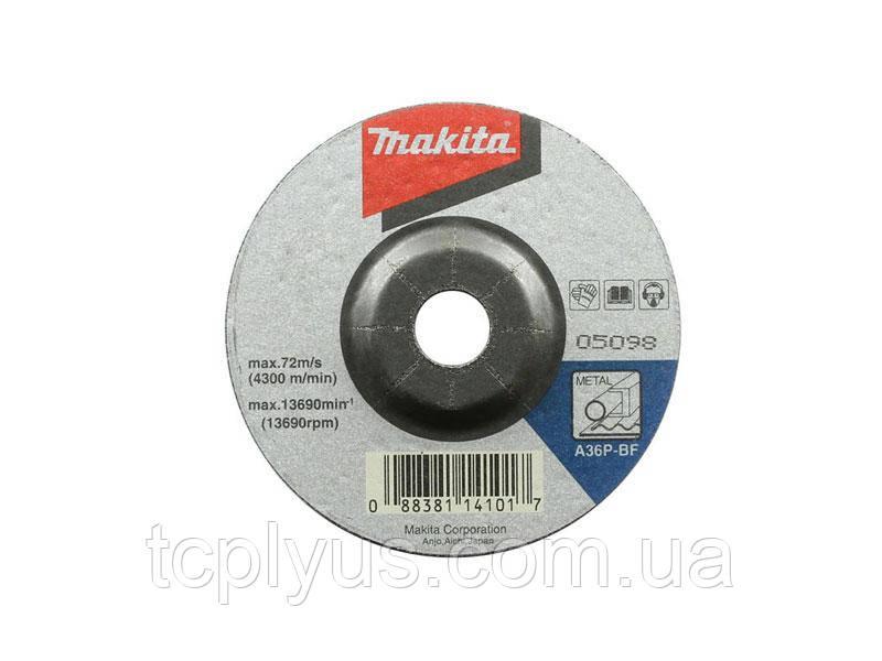 Шліфувальний диск по металу 180x6 Макіта A-80949