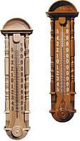 "Термометр фасадный деревяный ""Барокко"", размер  860*220,  типТФ - 2П Стеклоприбор"