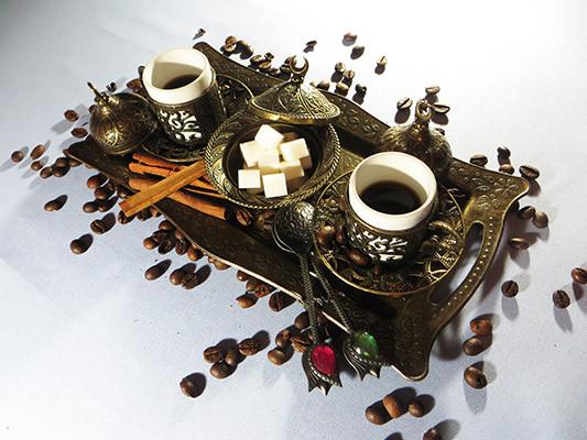 Турецкая кофейная посуда и принадлежности
