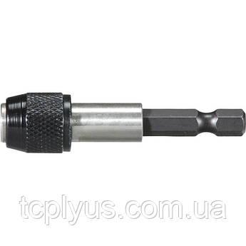 Тримач біт магнітний з фіксатором HEX1/4, 60 мм
