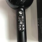 Беспроводной Караоке Микрофон с динамиками и светомузыкой WS 878 ЧЕРНЫЙ +Подарок!, фото 4