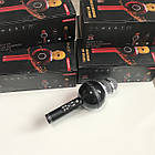 Беспроводной Караоке Микрофон с динамиками и светомузыкой WS 878 ЧЕРНЫЙ +Подарок!, фото 8