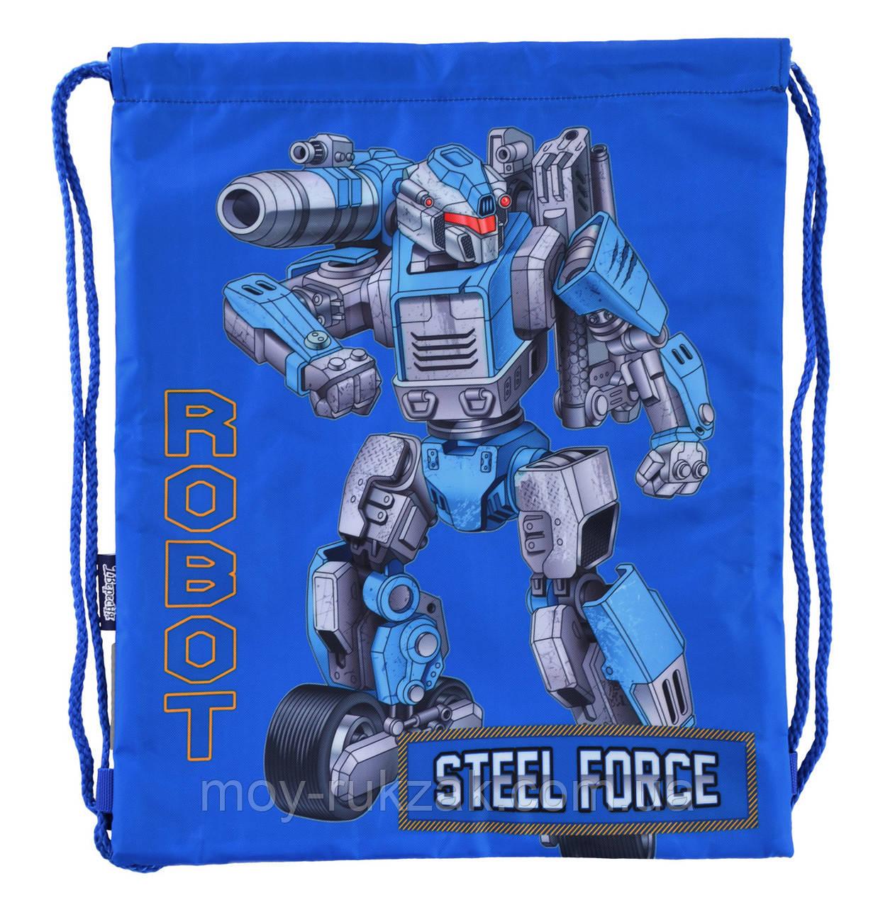 """Сумка для обуви SB-10 """"Steel Force"""" «1 Вересня» 556288"""