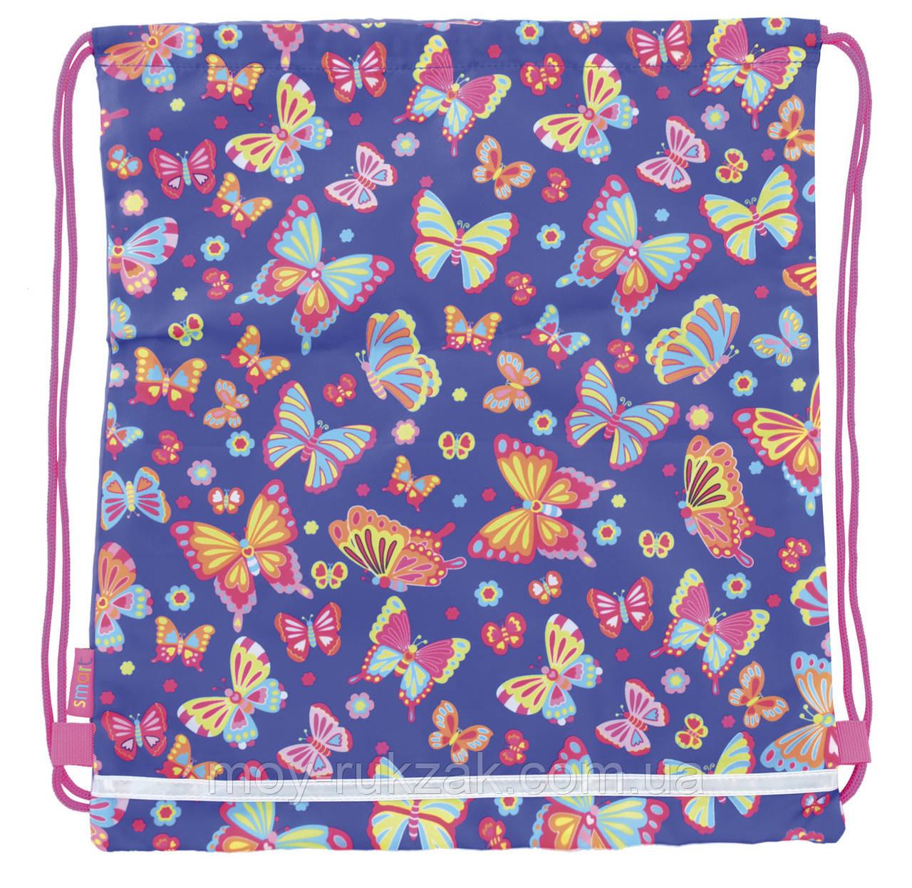 """Сумка для обуви SB-01 """"Butterfly dance"""" «1 Вересня Smart» 556104"""