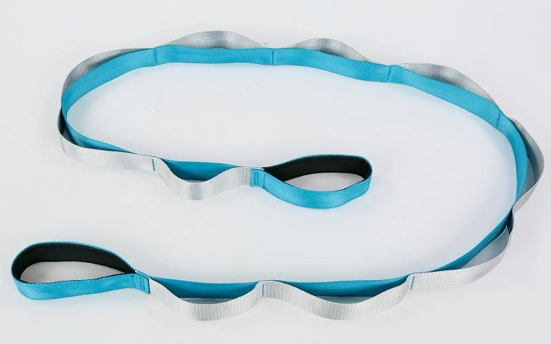 Стрічка для розтяжки 4х220см Блакитний FI-8369