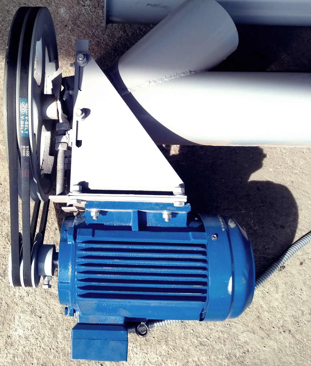 Конвеєр гвинтовий (шнековий) КВ діаметром 350 мм