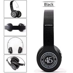 Беспроводные наушники P45 Bluetooth FM MicroSD с Микрофоном