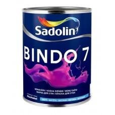 Матовая краска для стен и потолка Sadolin Bindo 7 2,5 л