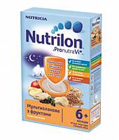 Молочная каша Nutrilon мультизлаковая с фруктами нутрилон, 225 г
