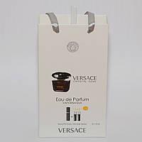 Crystal Noir Versace мини парфюмерия в подарочной упаковке 3х15ml (реплика)