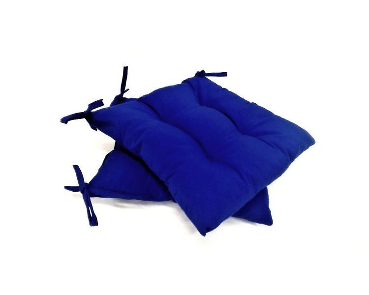 Подушка на стул Василек 40*40 см с водоотталкивающей пропиткой подушка для стула табурета