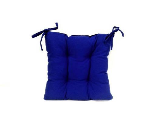 Подушка на стул Василек 40*40 см с водоотталкивающей пропиткой подушка для стула табурета, фото 2