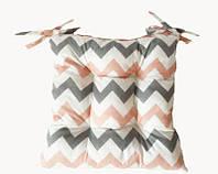 Подушка на стул ЗигЗаг 40*40 см подушка для стула табурета