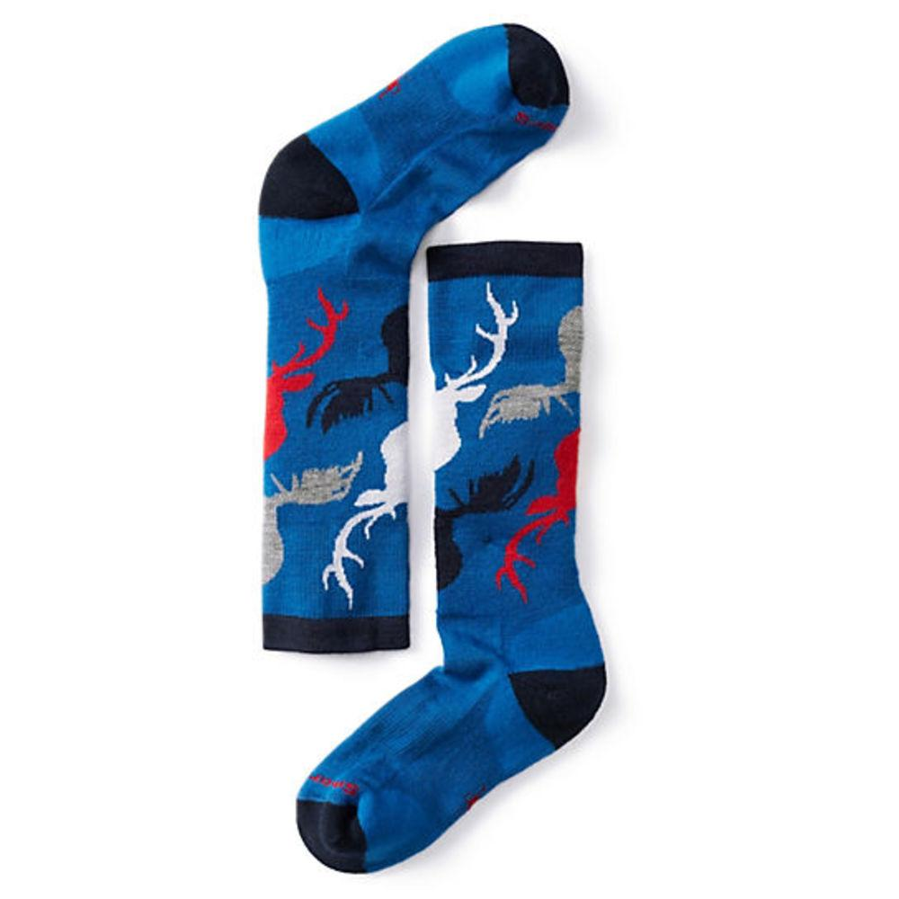 Детские термоноски Smartwool Kids' Wintersport Camo Socks Bright Blue, L / 33-36