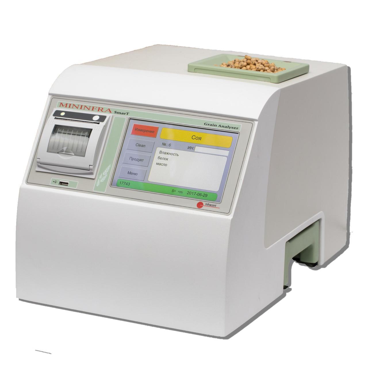 Инфракрасный анализатор зерна Mininfra SmarT