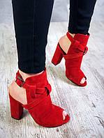 Роскошные красные босоножки р37