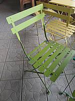 Стул метал. зеленый (Турция)
