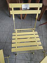 Стілець метал. жовтий (Туреччина)
