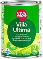 Краска для дерева Villa Ultima база VС Vivacolor база под тонировку полумат 0,9л 1,2кг