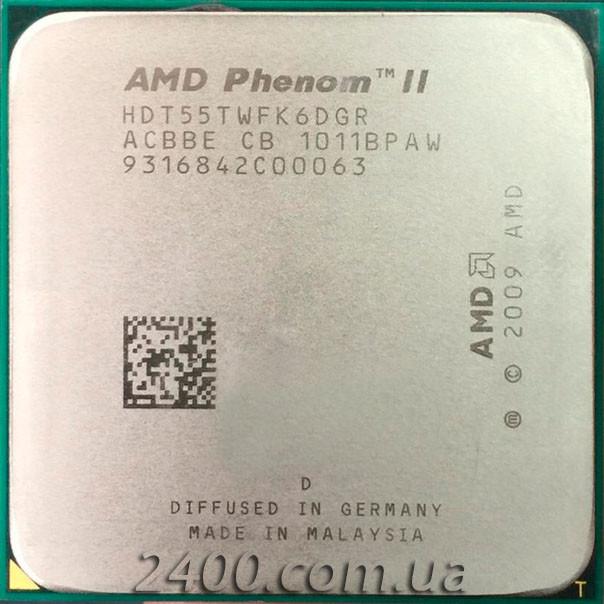 Процесор AMD Phenom II X6 1055T 2.8 GHz 2000MHz (HDT55TWFK6DGR) Socket AM3 95W