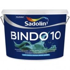 Матовая устойчивая к мытью краска для стен Sadolin Bindo 10 2,5 л