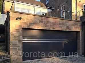 Ворота гаражные секционные GANT Чехия размер 3500х2000 мм