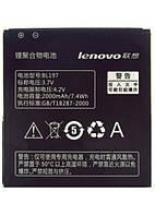 Аккумуляторная батарея (АКБ) для Lenovo BL197 (A789T/A800/A820/S720/S750) леново, 2000 мАч