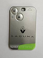 Ключ карта 433 мГц для Renault Laguna ключ карта с  логотипом LAGUNA