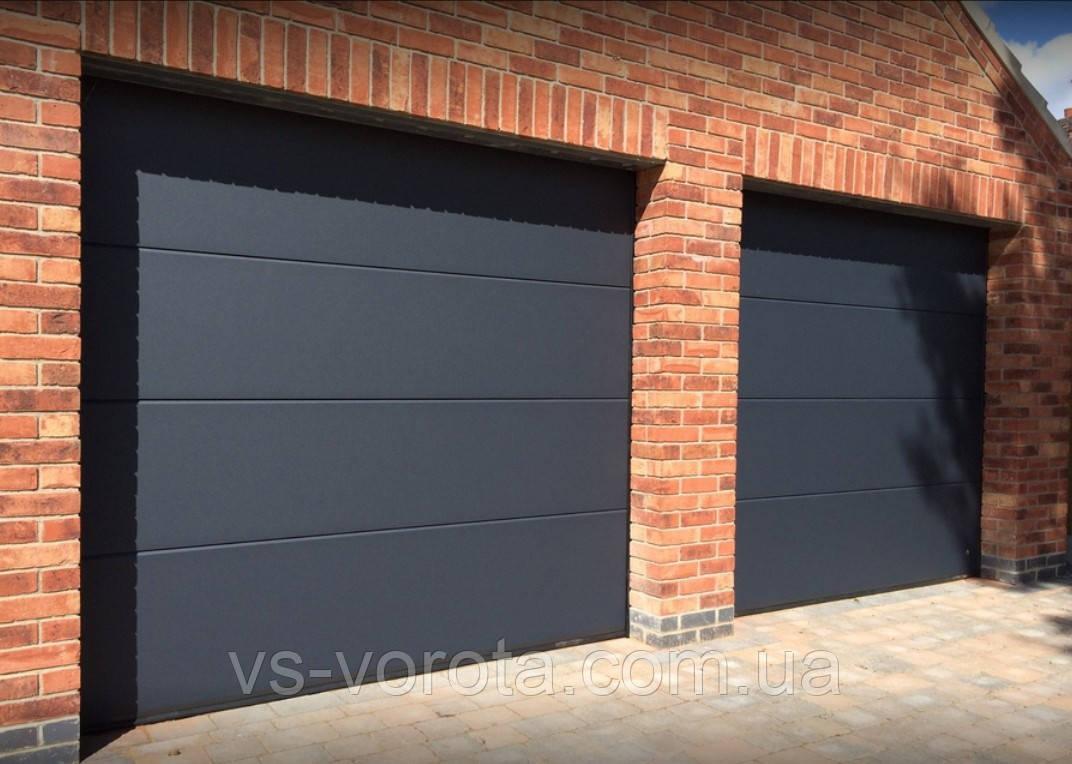 Ворота Doorhan RSD 02 размер 2900х2200 мм - гаражные секционные Чехия