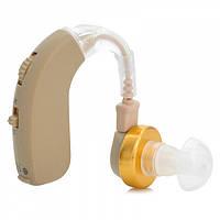 Заушный слуховой аппарат Axon F-137 для пожилых людей, с доставкой по Киеву и Украине