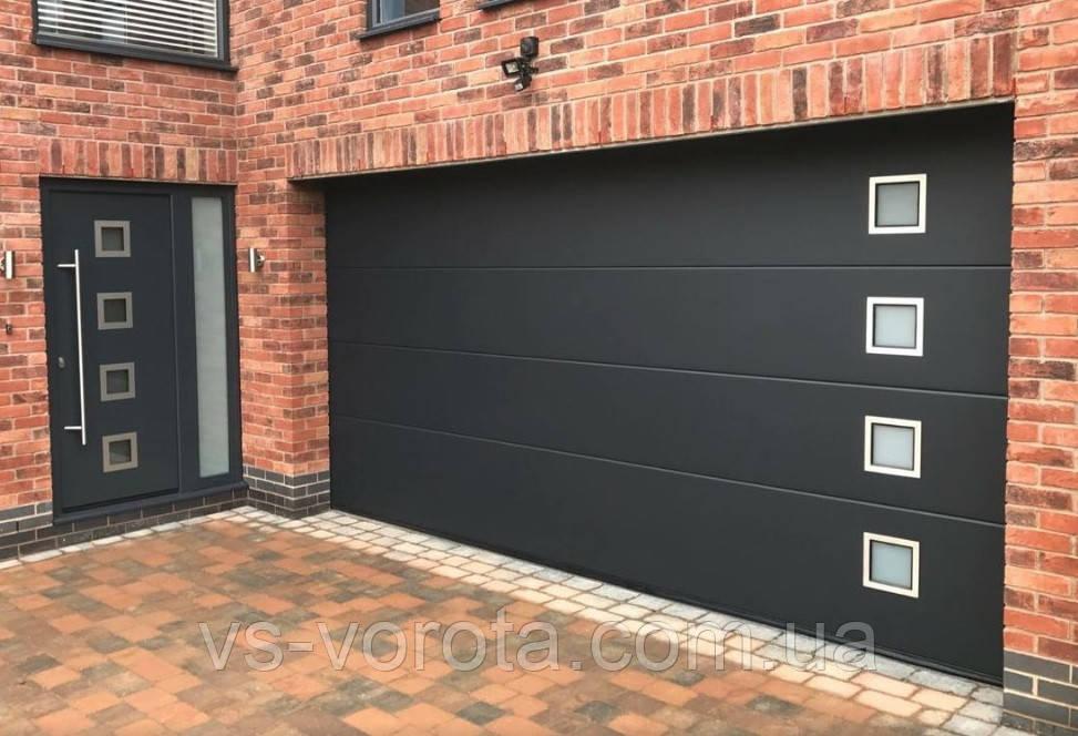 Ворота Doorhan RSD 02 размер 2500х2200 мм - гаражные секционные Чехия