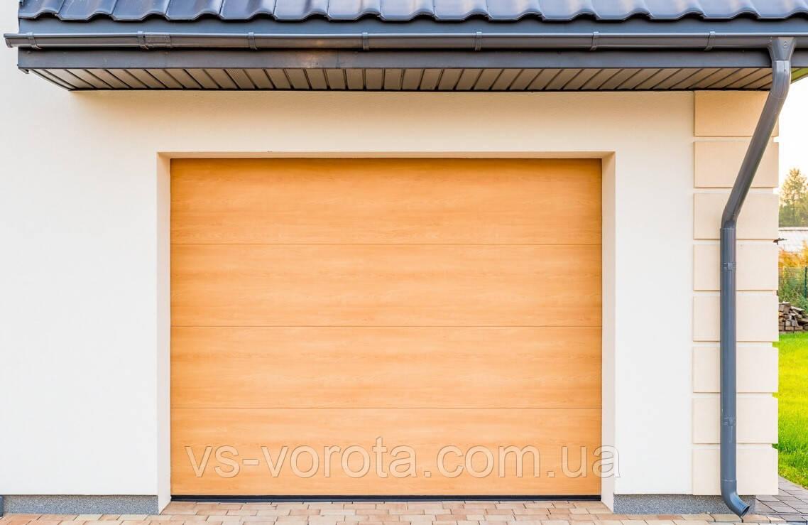 Ворота Doorhan RSD 02 размер 3200х2200 мм - гаражные секционные Чехия