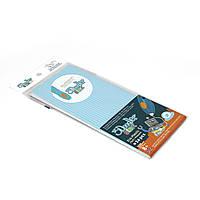 Набор стержней для 3D-ручки 3Doodler Start пастельно-голубой 24 шт (3DS-ECO19-BBLUE-24)