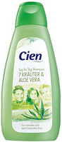Шампунь для жирных волос Cien haircare shampoo With Herb Extracts & Aloe Vera