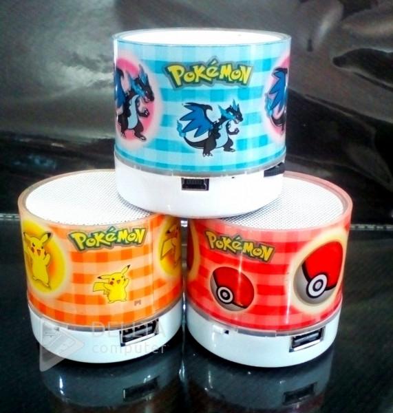 Детская колонка Bluetooth P music pokemon портативная колонка с покемонами