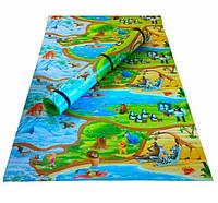 Детский развивающий коврик Мадагаскар 200х120см