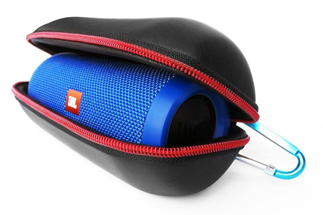 Чехол Кейс для JBL Flip 3 и Flip 4 от G-Cover (чёрный). Защита для акустической системы