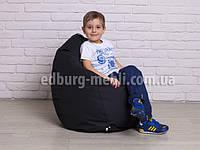 Кресло мешок груша детская | черный Oxford , фото 1