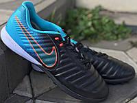 Футбольная обувь Сороконожки Nike Tiempo Ligera IV TF 1137