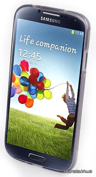 Jekod силиконовый чехол TPU Protective для Samsung i9500 Galaxy S4 Grey