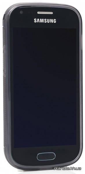 Jekod силиконовый чехол TPU Protective для Samsung S7562 Galaxy S Duos Grey