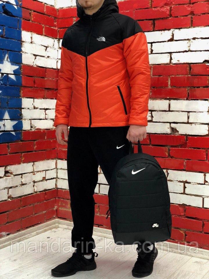 Демисезонная    мужская куртка   The North Face Норд Фейс цвета  в ассортименте (реплика)