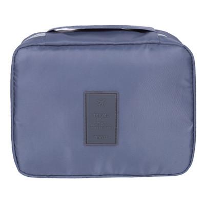 Дорожный органайзер для макияжа Mаkeup pouch Ver.5  серый 01029/01