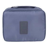 Дорожный органайзер для макияжа Mаkeup pouch Ver.5  серый 01029/01, фото 1