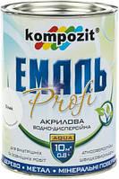 Эмаль акриловая Profi Kompozit белый глянец 0,8л