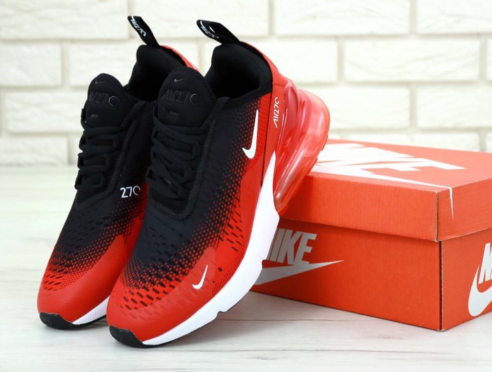 e9ae9c9ef Кроссовки Nike Air Max 270 Черно-красные - Интернет магазин обуви «im-РоLLi